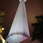 KL Tower from the ground (Simon Roughneen)