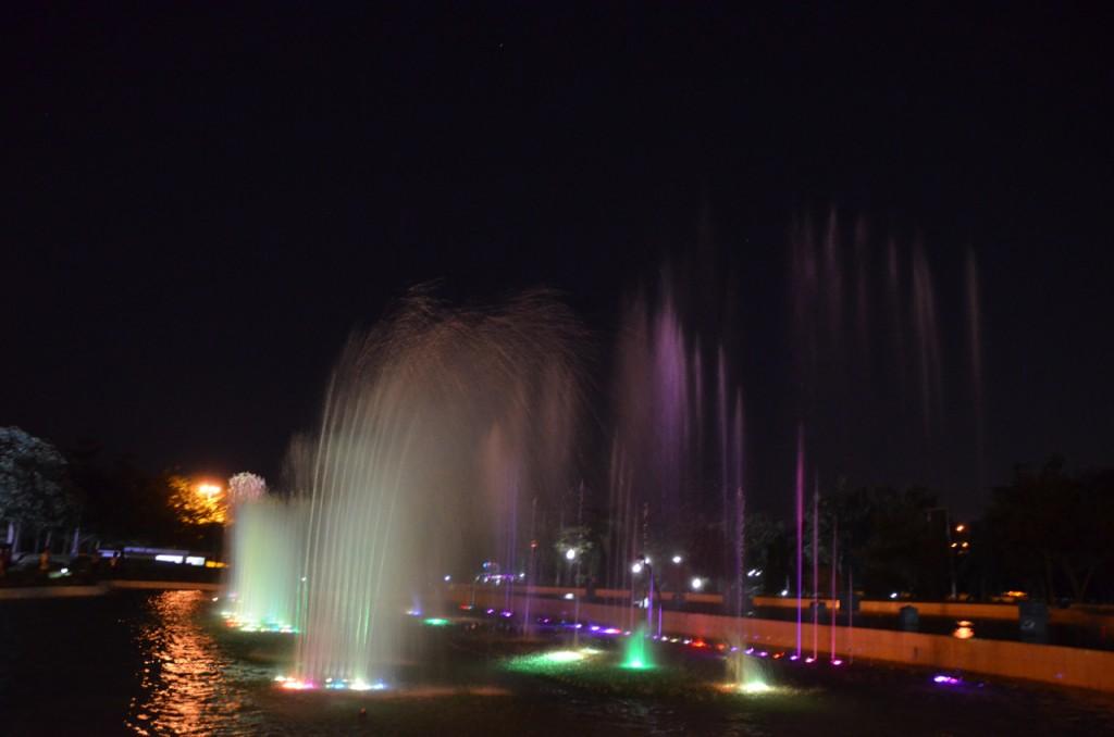 Naypyidaw Fountain Park (Photo: Simon Roughneen)