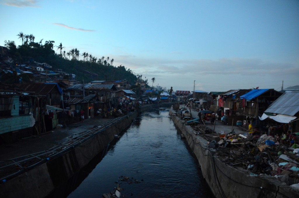 Area near Tacloban market, which benefitted from the Tzu Chi Foundation's clean-up (Photo: Simon Roughneen)