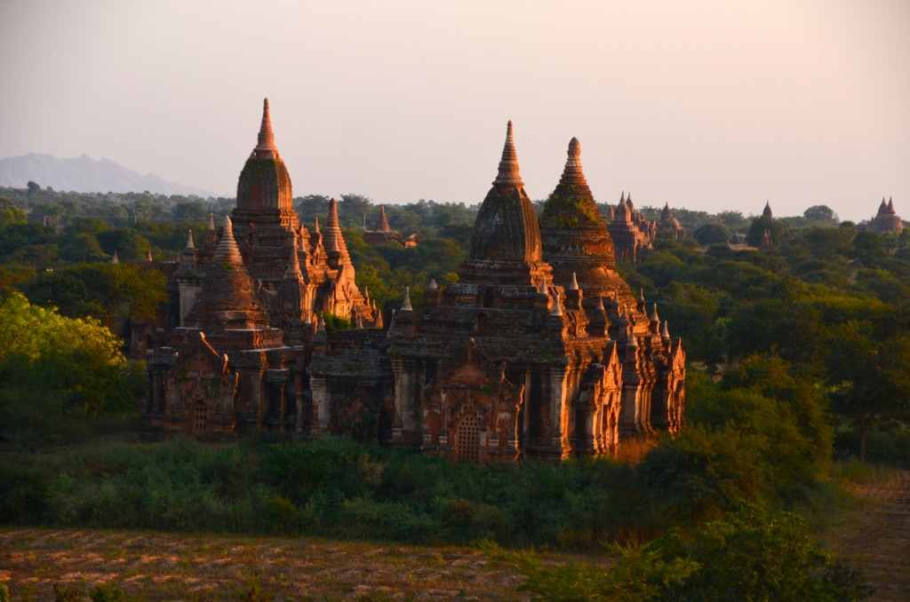 Some of Bagan's temples (Photo: Simon Roughneen)