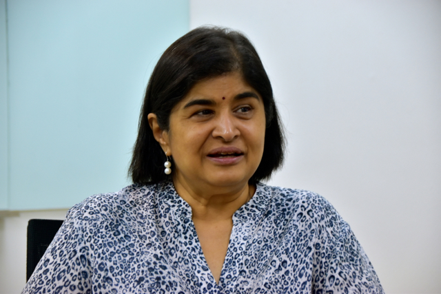 Ambiga Sreenevasan, former leader of the campaign to reform Malaysia's electoral system (Photo: Simon Roughneen)