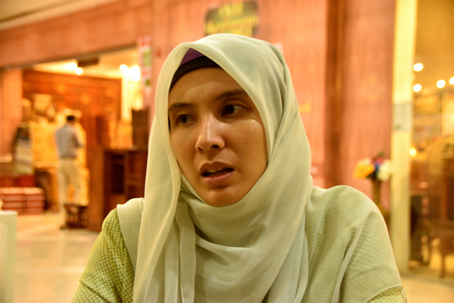 Nurul Izzah Anwar, Vice-President of the People's Justice Party, one of the 3 parties that made up the now-defunct opposition coalition (Photo: Simon Roughneen)
